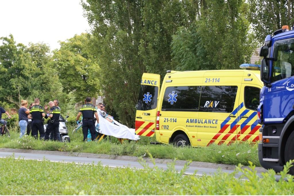kliknieuws veghel - gewonde bij ongeval op dorpenweg in haren