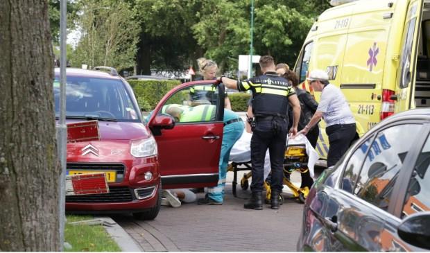 Ongeval in Berghem. (Foto: Maickel Keijzers/ Hendriks multimedia
