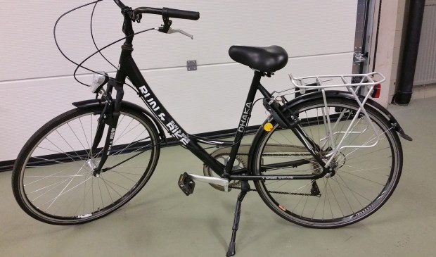 De fiets. (Foto: Facebook politie Oss),
