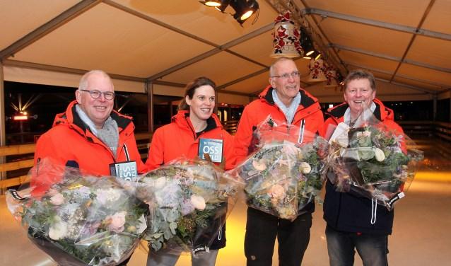Het bestuur van Stichting Winterland Oss. (Foto: Hans van der Poel)