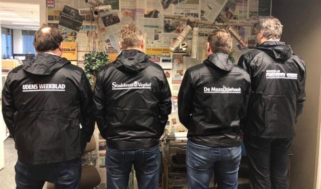 De nieuwe jassen voor krantenbezorgers