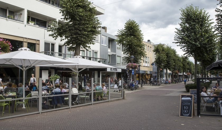 Het winkelcentrum van Uden. (foto: Ad van de Graaf)