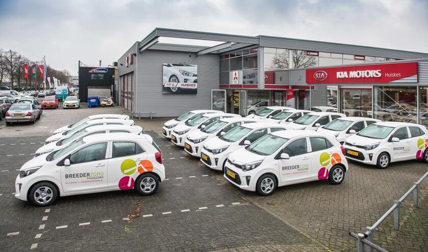 Samenwerking Breederzorg Thuiszorg en Autobedrijf Huiskes.