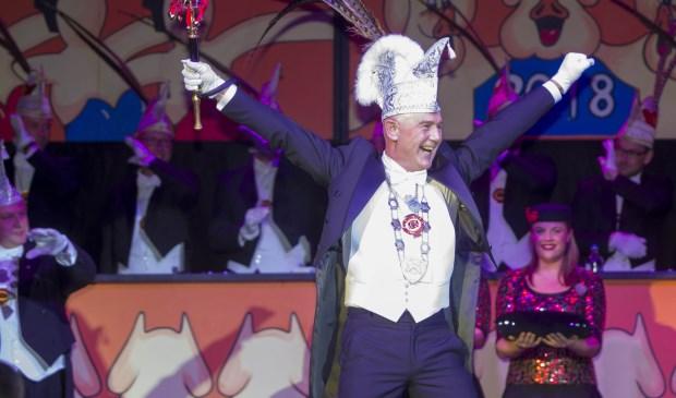 Ad van der Weele is ontzettend blij met zijn benoeming tot prins