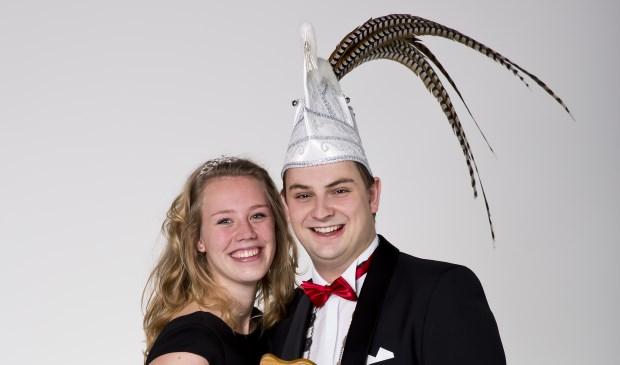 Vorst Giel d'n Urste en zijn vriendin Laura (foto: Kuppen fotografie)