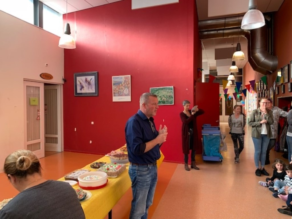Feestweek bij OBS Kompas.  © Kliknieuws Veghel