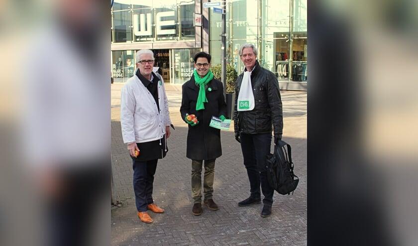 Rob Jetten (midden) nieuwe fractievoorzitter D66.