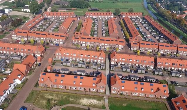 De Oranjewijk in Veghel.