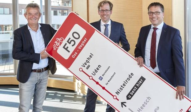 Rien Wijdenven, Christophe van der Maat en Franko van Lankvelt (foto: Wim Hollemans)