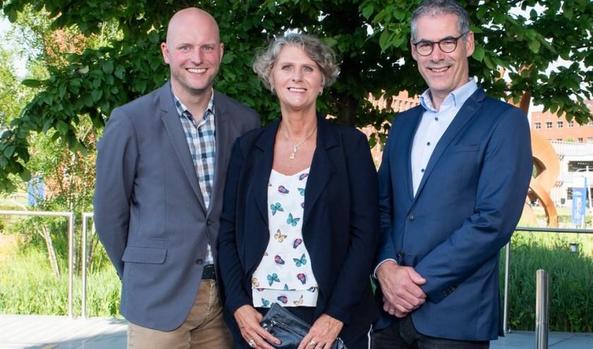 De drie genomineerden voor de Ondernemersprijs Land van Cuijk en Noord-Limburg dit jaar.