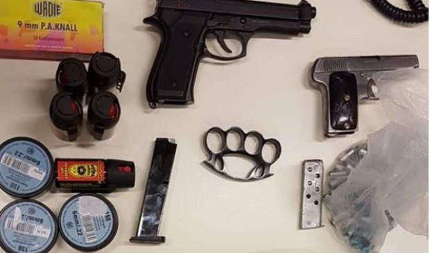 De wapens. (Foto: Instagram wijkagenten Ruwaard)