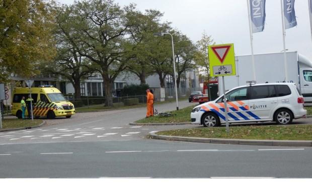 Fietser gewond bij ongeval op kruising in Oss.