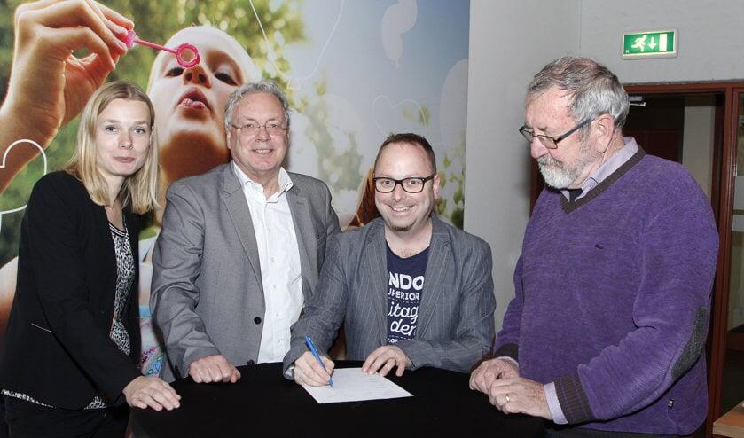 Gerrit Overmans is gekozen tot voorzitter van het nieuwe afdelingsbestuur