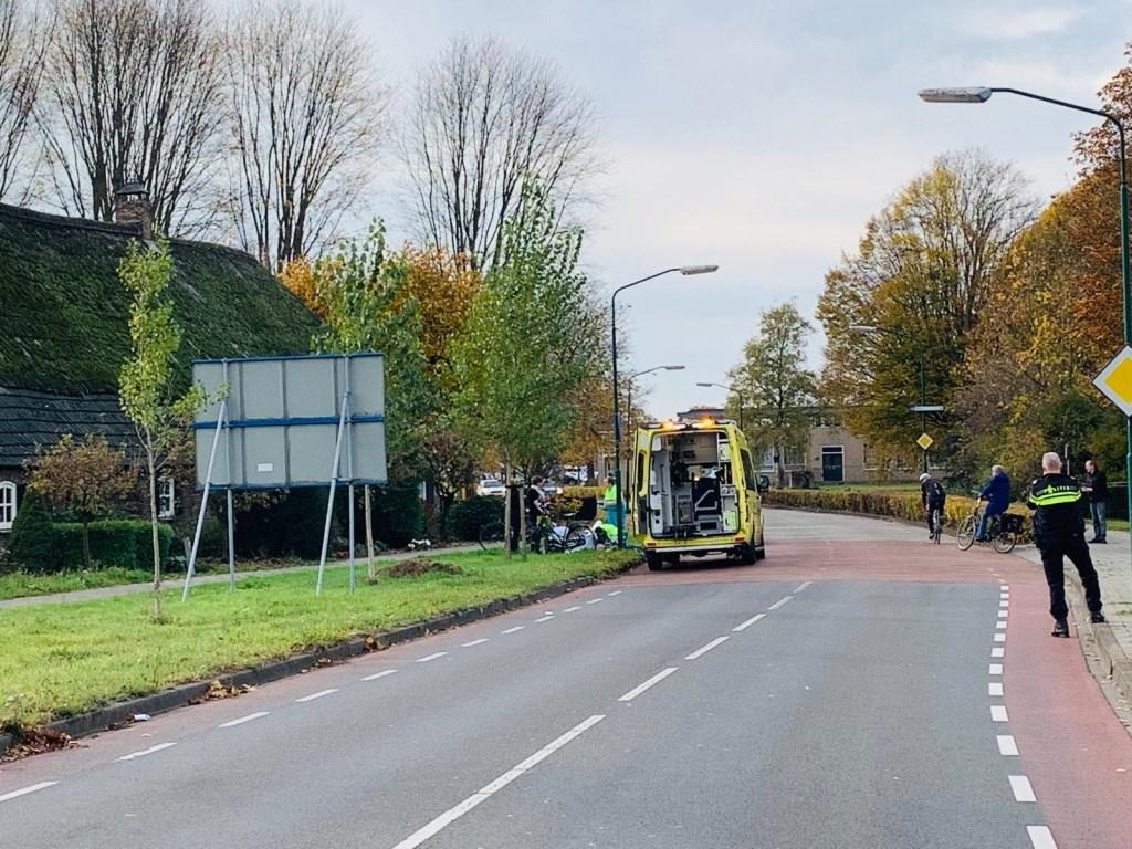 Ongeval aan de Steeg in Schijndel.