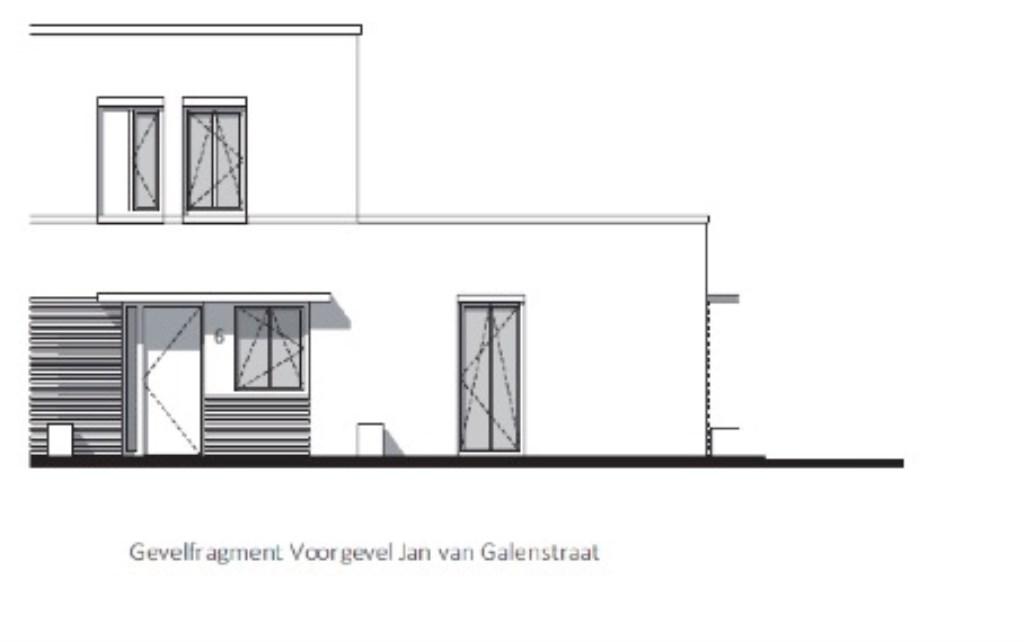 Jan van Galenstraat.  © Kliknieuws Veghel