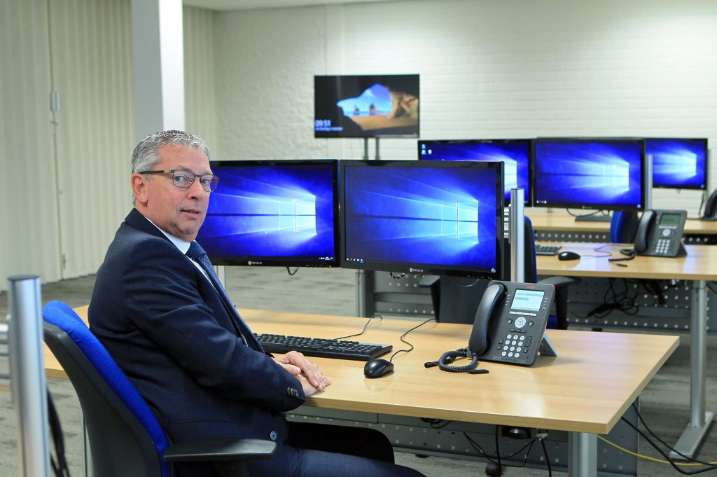 Will Spoor van EUROPAC. (Foto: Hans van der Poel)