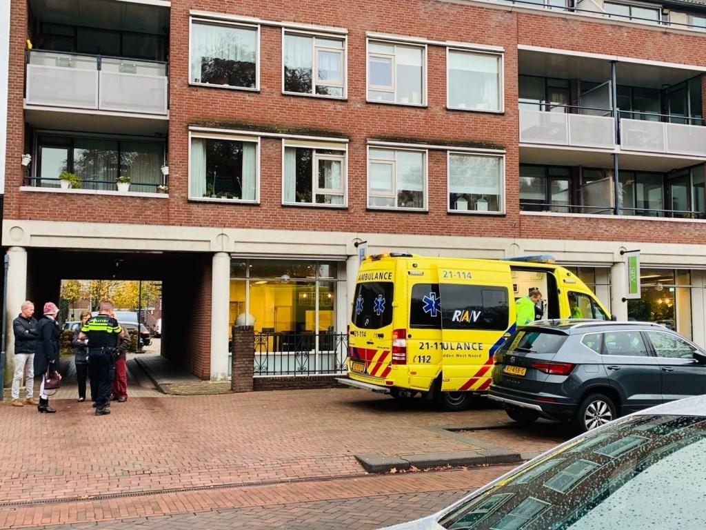 Fietser geschept door auto in Veghel.  © Kliknieuws Veghel