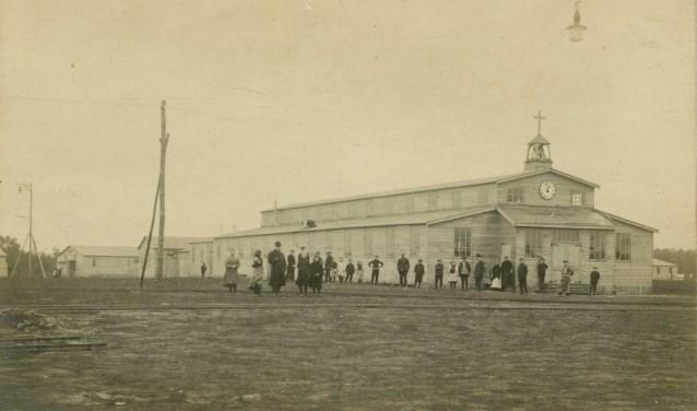 De RK kerk op Vluchtoord Uden (bron: Stichting Het Uden-archief van Bressers)
