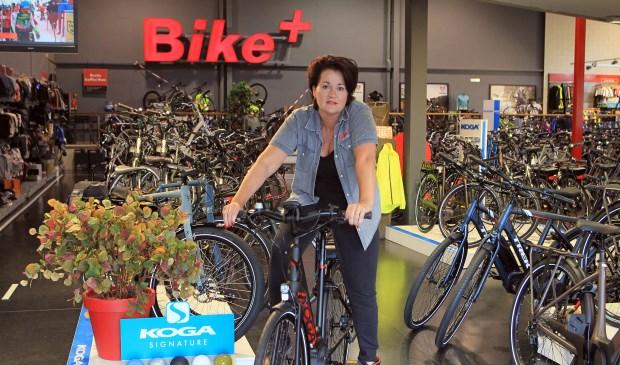 Jacqueline Vos van Bike+. (Foto: Hans van der Poel)