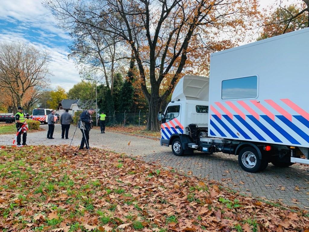 Recherche doet grootschalig extra onderzoek in twee woonwagens Hoogheuvelstraat