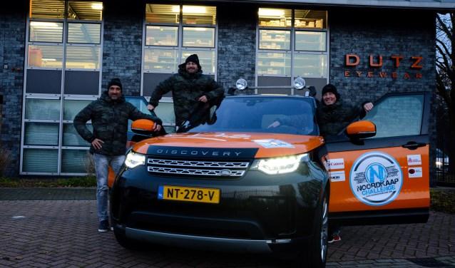 Flying Dutzmen: Jan van Engelen, Roland Vandermeulen en Dennis Wouters.