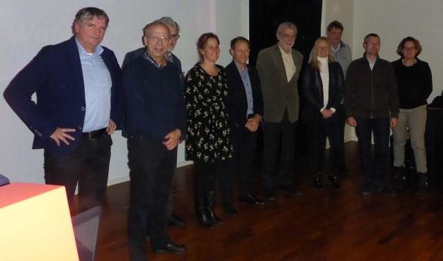Team Aa en Maas, met Ernest de Groot helemaal links