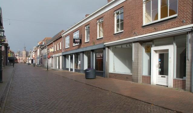 Het winkelkerngebied van Gennep. (Tekst en archieffoto: Jos Gröniger)