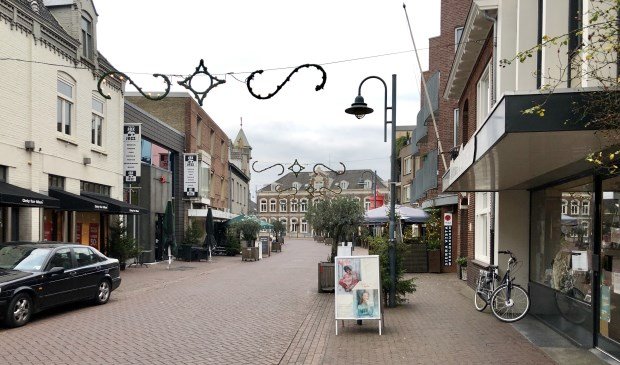 De Molenstraat in Veghel.