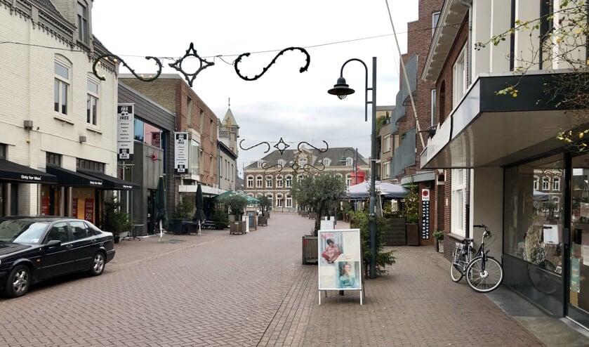 De Molenstraat in Veghel.