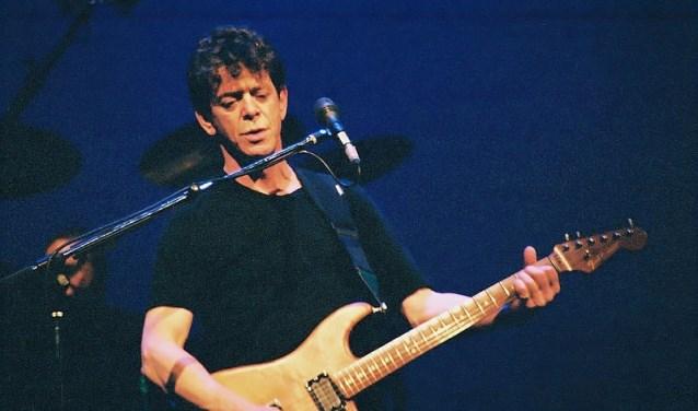 Lou Reed tijdens een concert in 2004.