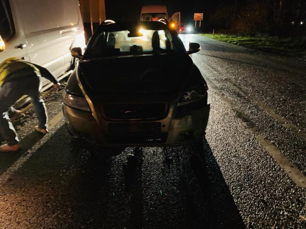 Auto's lopen schade op bij kop-staartbotsing Paalgraven  © 112 Brabantnieuws