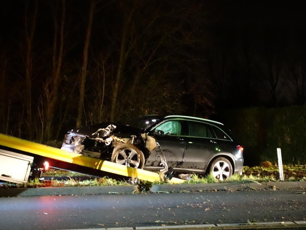 Gewonde bij ongeval in Deursen-Dennenburg  © 112 Brabantnieuws
