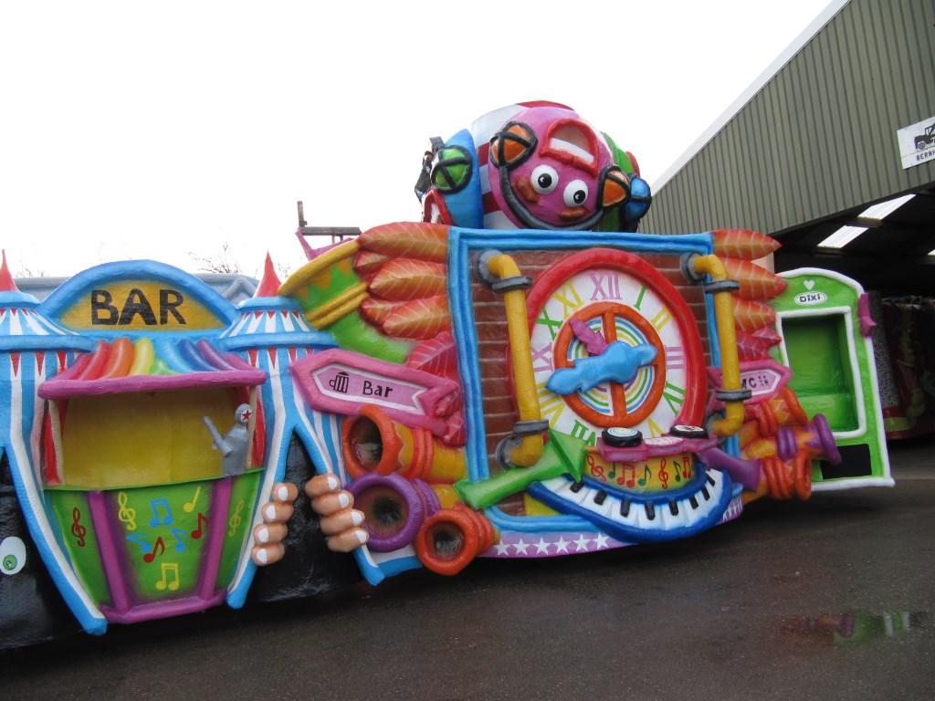 Carnaval. (Foto: R. van Erp)  © Kliknieuws Oss