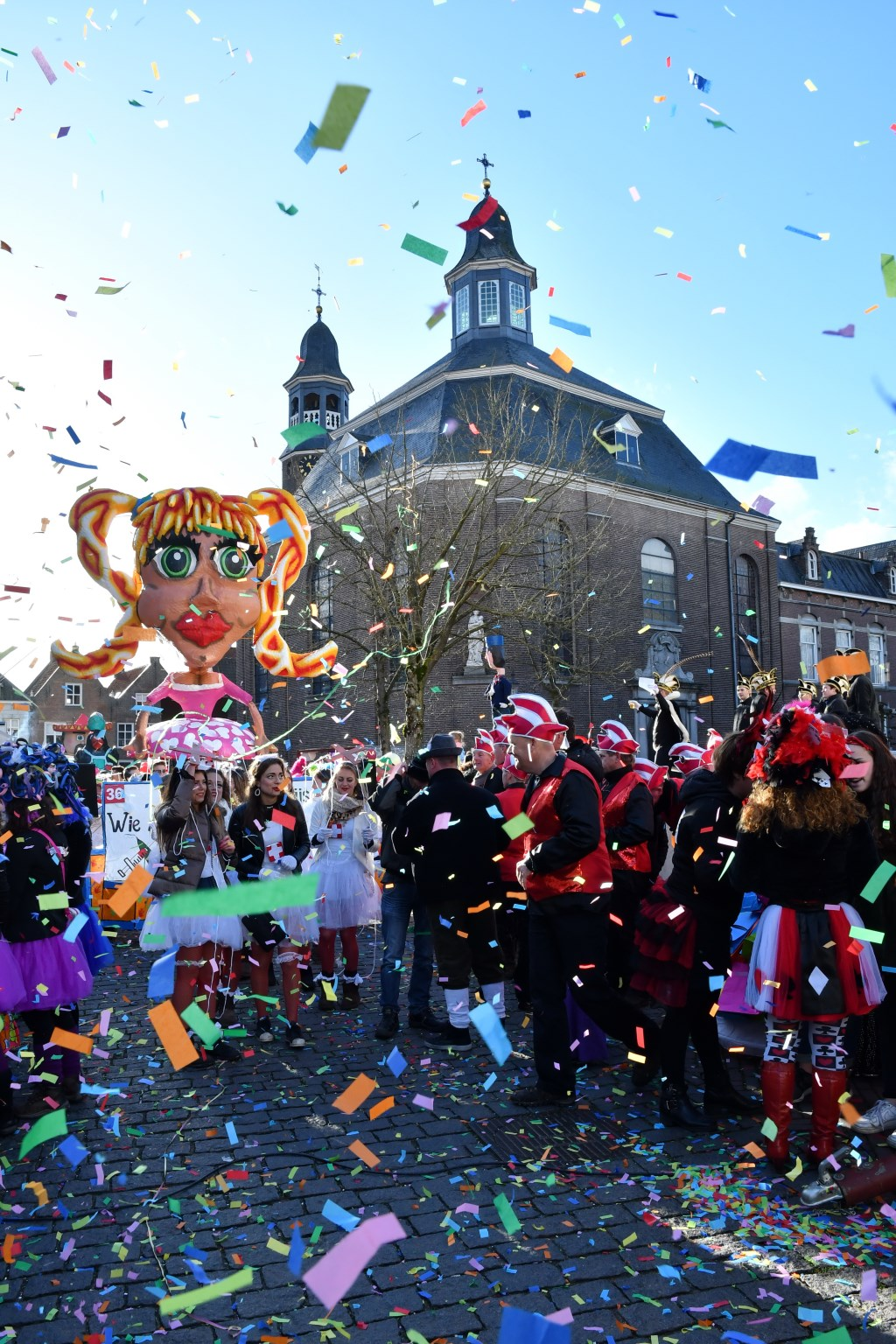 Carnaval in Ravenstein. (Foto: Theo Rutjes)  © Kliknieuws Oss