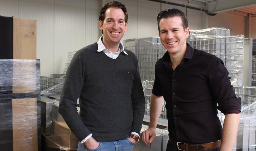 Rob van Zutven en Joop Govers van Trendsetters.