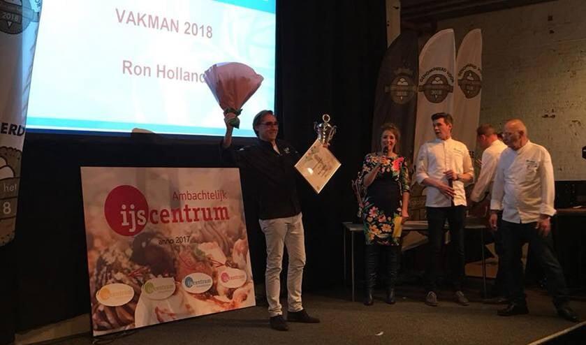 Ron Holland werd uitgeroepen tot Vakman van het Jaar