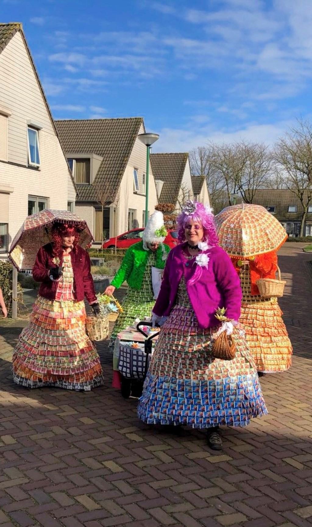 Carnaval in Heesch. (Foto: Suzanne van Doorn)  © Kliknieuws Oss