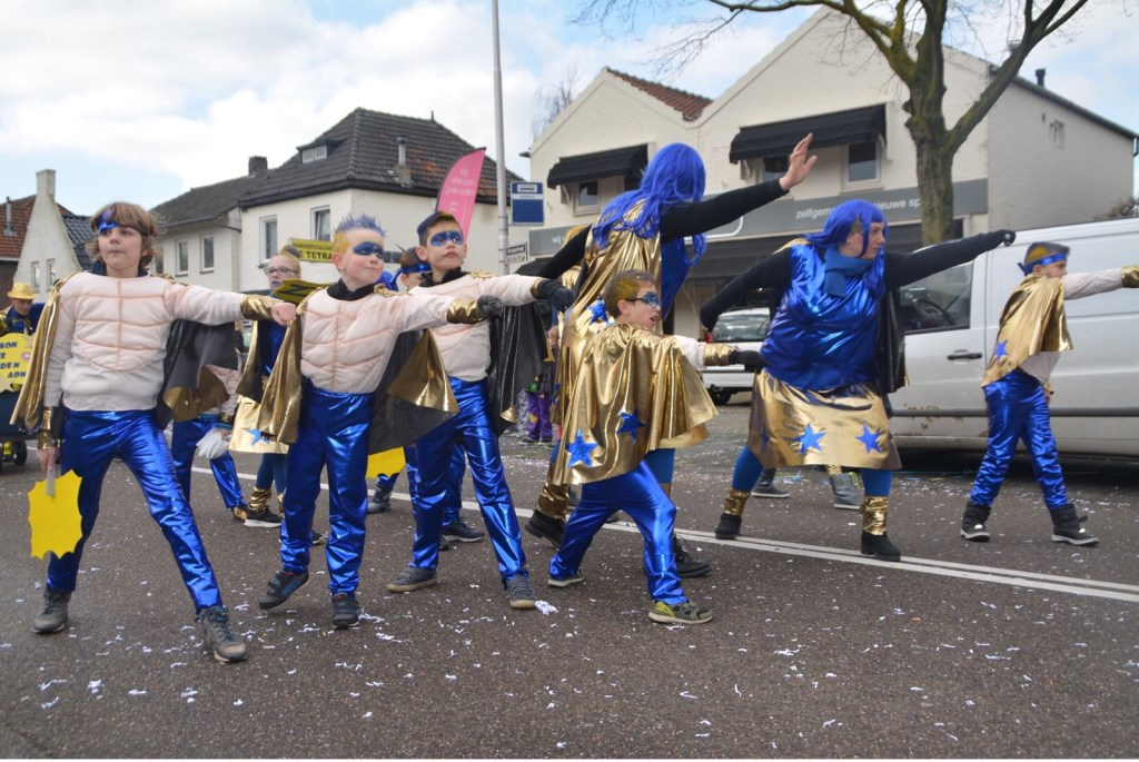 Carnaval in Oss. (Foto: Dave Boeijen)  © Kliknieuws Oss