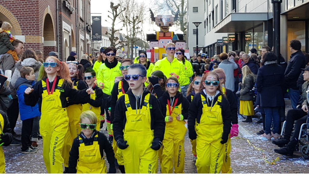 Carnaval in Oss. (Foto: Jolanda Hoogwoud)  © Kliknieuws Oss