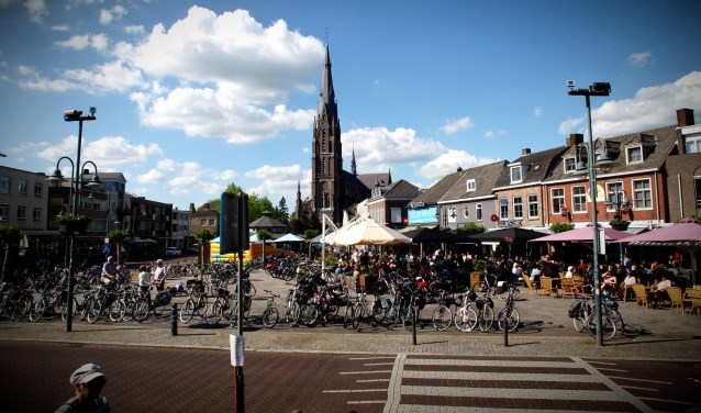 Het aantal fietsers is fors toegenomen.