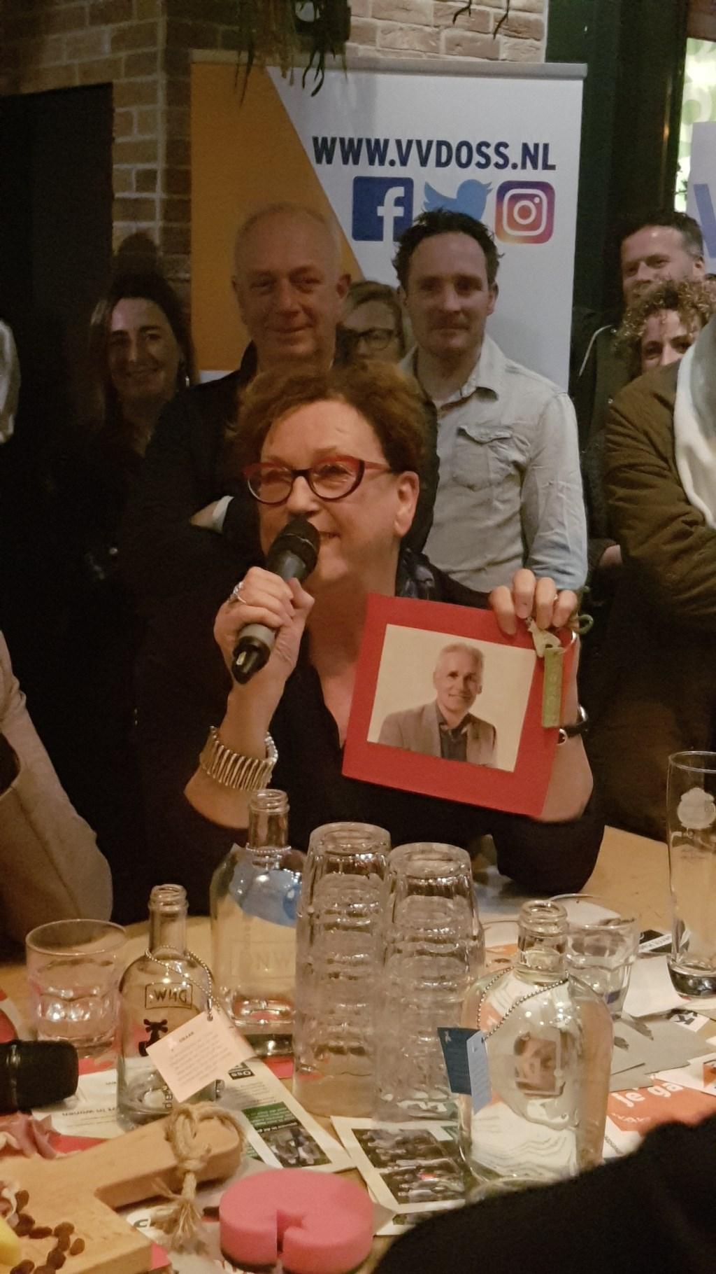 Marie-Therese Janssen, lijsttrekker SP Oss.  © Kliknieuws Oss