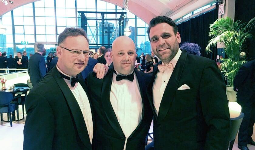 Bart Buiting (manager proces & innovatie), Vincent van der Zanden (projectmanager) en Paul van Dieperbeek (manager sales & marketing).