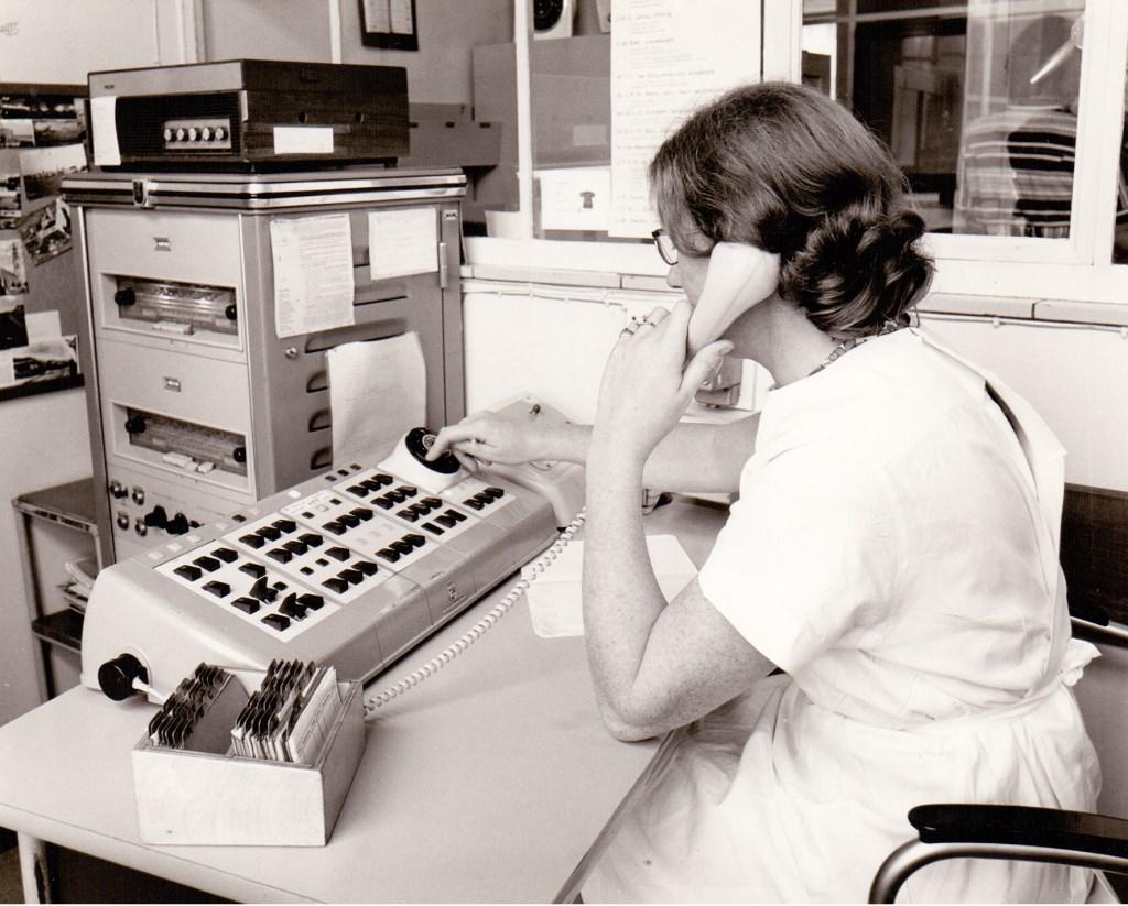 1970: Zo zag een telefooncentrale er toen uit  © Kliknieuws Veghel