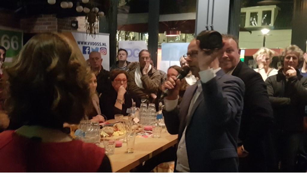 Wethouder Gé Wagemakers (VVD)  © Kliknieuws Oss