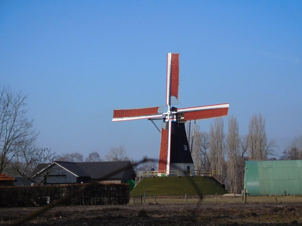 Door de herbouw en restauratie van De Hoop heeft Keldonk er een blikvanger bij.   © Kliknieuws Veghel