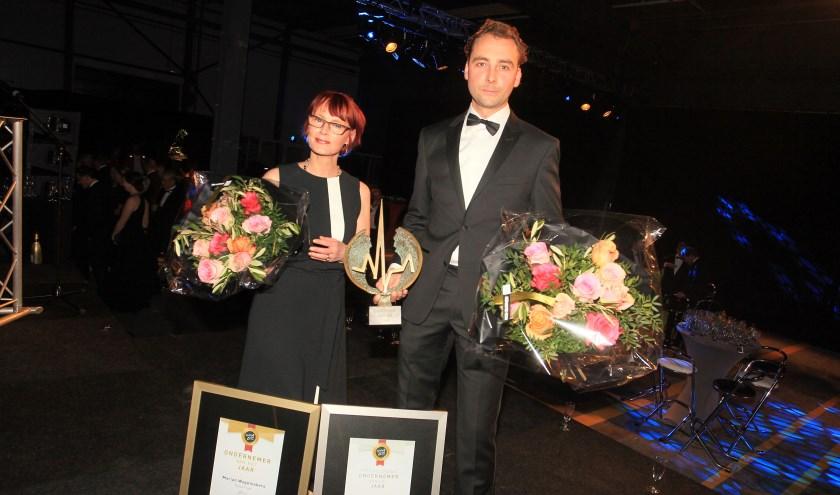Marian Wagemakers en Berry Hendriks. (Foto: Hans van der Poel)