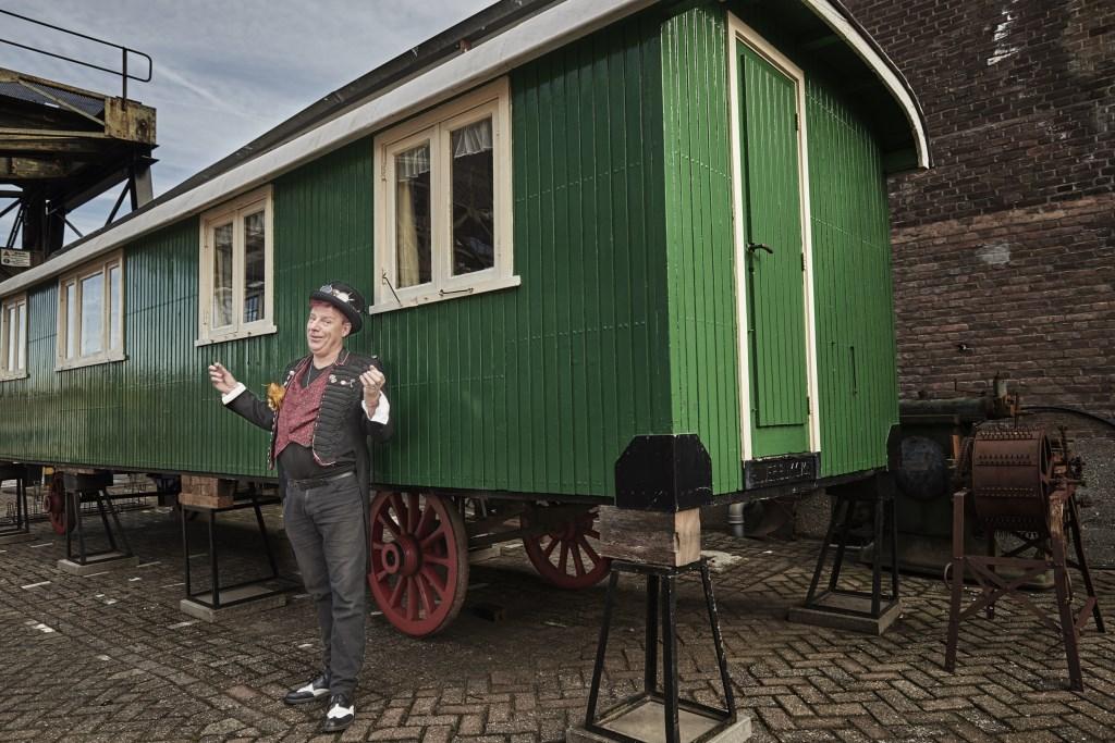 René Hildesheim gaat het circus organiseren (Fotografe Jasmine de Vries, photo jasmine).  © Kliknieuws Veghel
