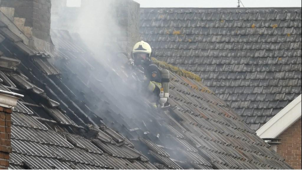 Brand in Megen.  © 112 Brabantnieuws