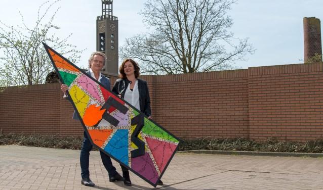 Jan van Hoof en Carin Simons (Foto: Bart Heesen).