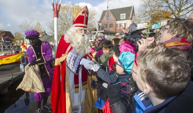 Sinterklaas in aanraakbaar in Veghel